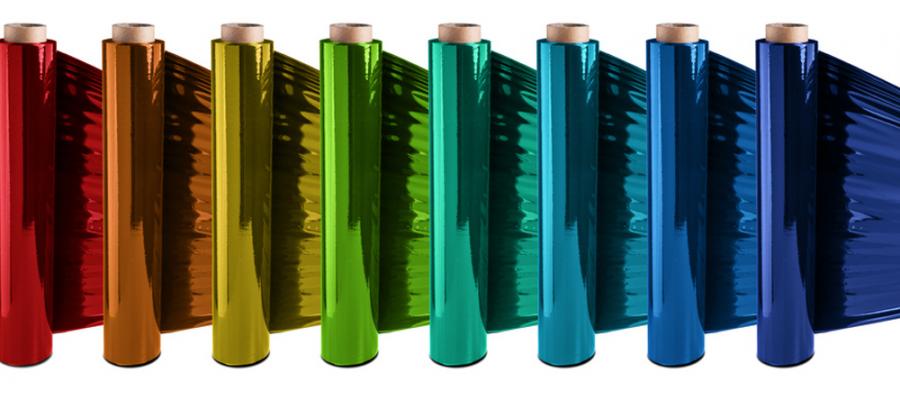 Folienveredelung: Glanzeffekte mit Gold-, Silber- und Buntfolien