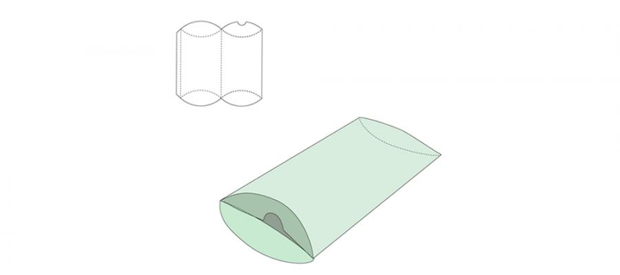 Leichtmittelverpackungen mit Glanz-Veredlung